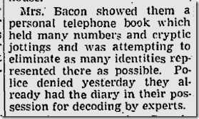 Sept. 16, 1943, Coded Diary.