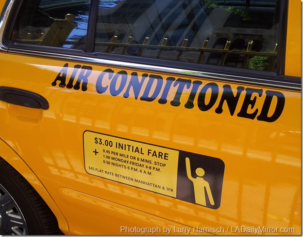 New York Taxi Movie Prop
