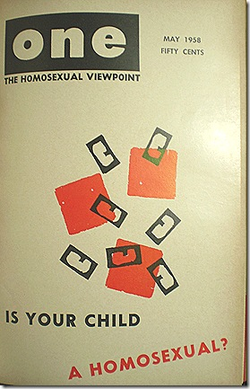 one_magazine_1958_is_your_child_gay