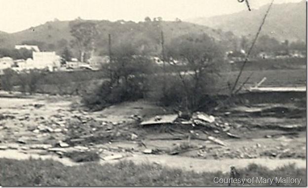 1938 flood house in river