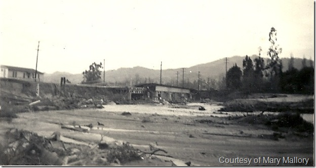 1938 flood washed out bridge