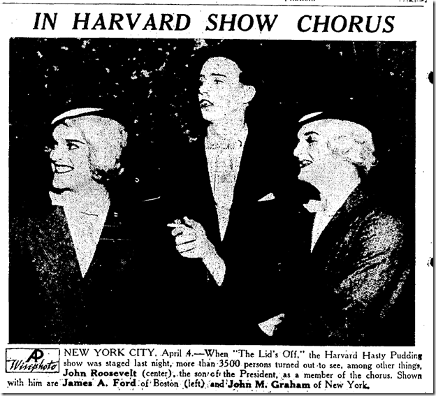 Oakland Tribune, April 5, 1936, Hasty Pudding