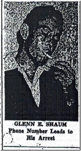 Glenn E. Shaum, Herald-Express, No Date