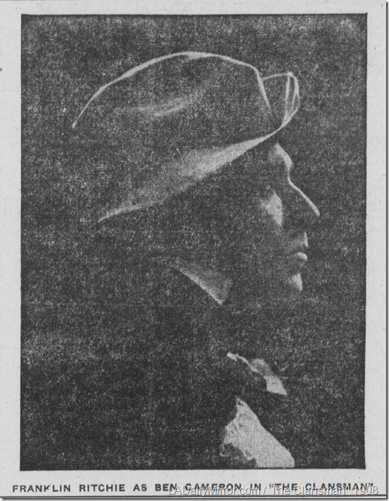 Nov. 28, 1908, The Clansman
