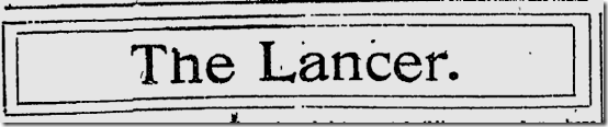 Nov. 15, 1908, The Lancer