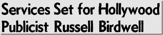 Dec. 20, 1977, Russell Birdwell