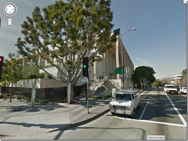 Grand and Temple via Google Street View