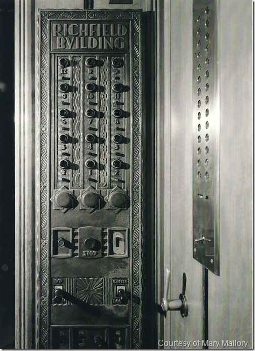 Richfield Building Elevator