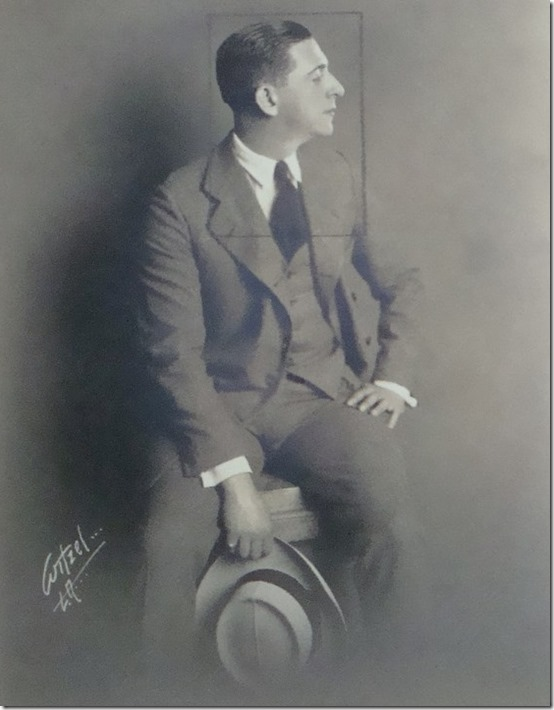 Edward Everett Horton by Witzel