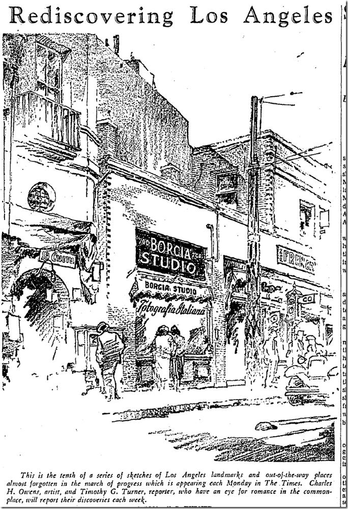 Jan. 6, 1936, Rediscovering Los Angeles