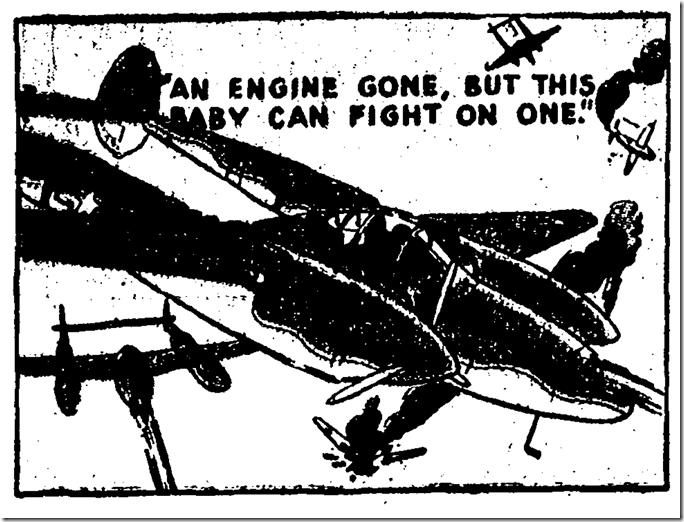 Dec. 19, 1943, The P-38