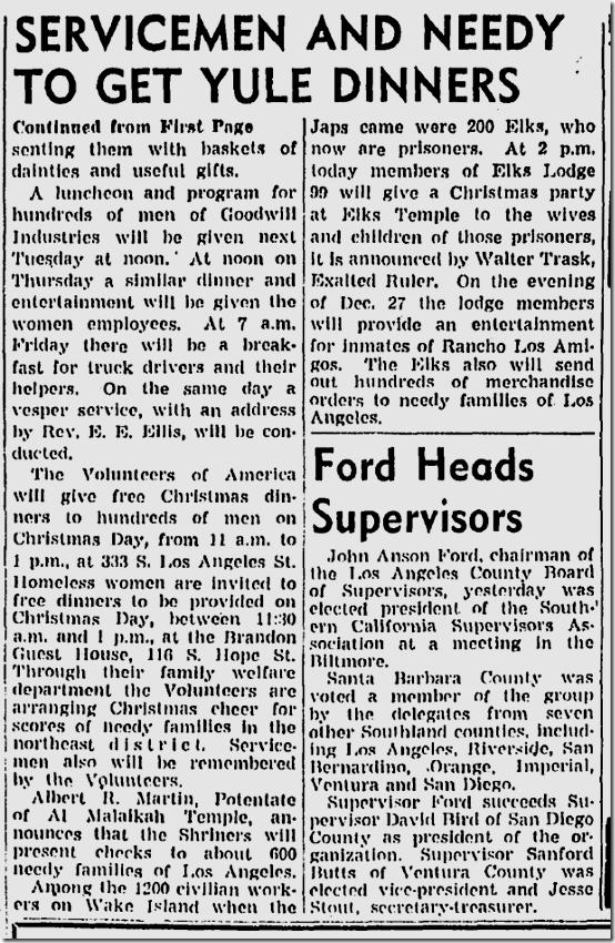 Dec. 19, 1943, Christmas
