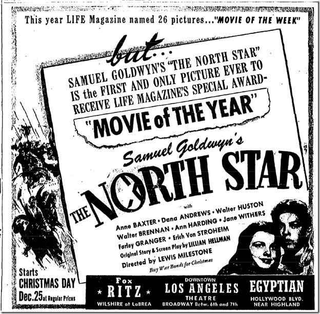 Dec. 19, 1943, The Noth Star