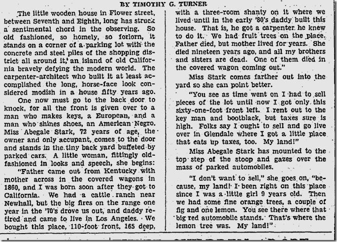 Feb. 10, 1936, Rediscovering Los Angeles