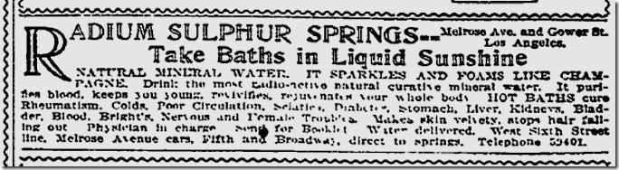 Dec. 25, 1913, Radium Solphur Springs