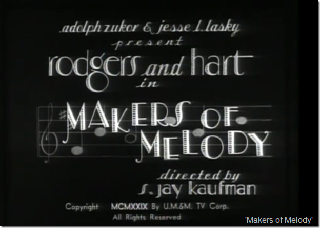 'Makers of Melody'