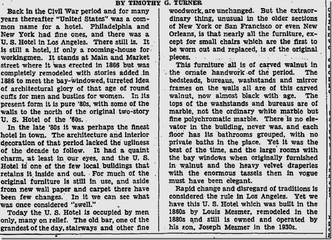 Jan. 13, 1936, Rediscovering Los Angeles