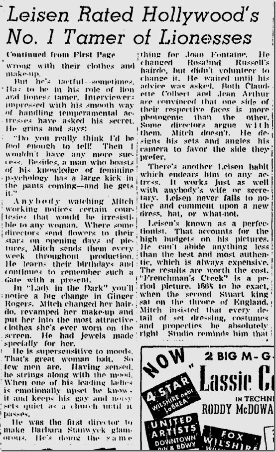 Nov. 28, 1943, Hedda Hopper