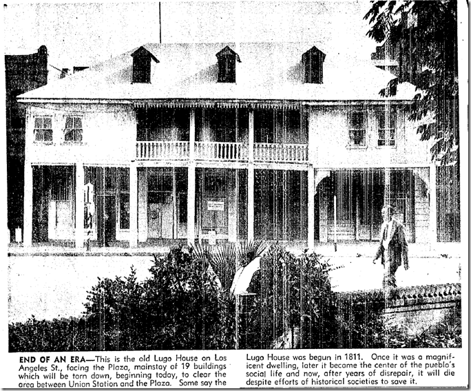 Feb. 7, 1951, Lugo Adobe