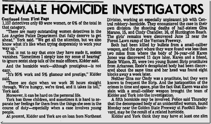 July 6, 1980, Helen Kidder