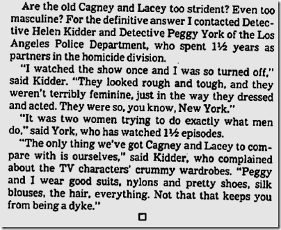 June 23, 1982, Helen Kidder