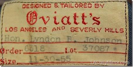 Oviatt's Label LBJ