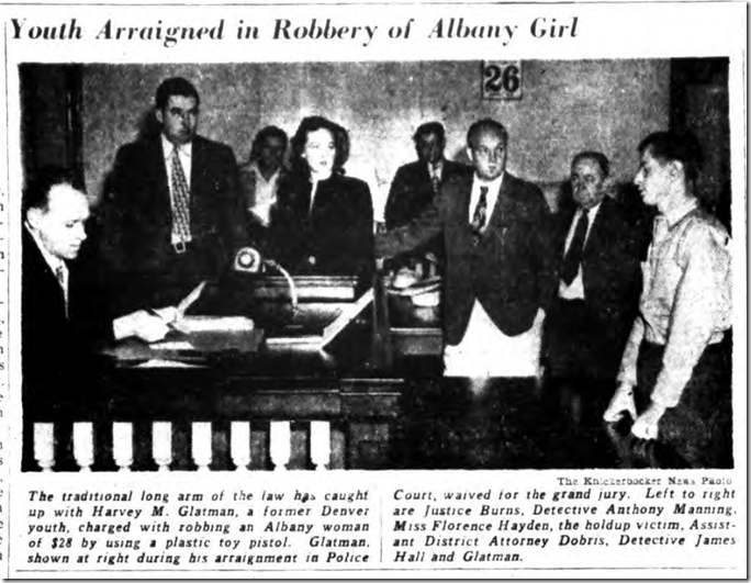 Aug. 26, 1946, Harvey Glatman Arraignment