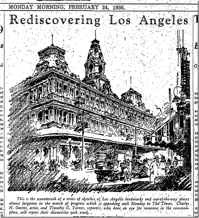Rediscovering Los Angeles, Feb. 27, 1936