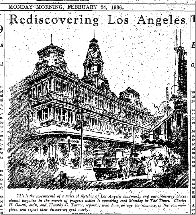 Rediscovering Los Angeles, Feb. 27, 1936