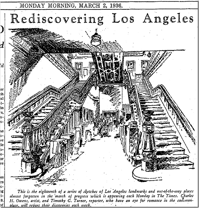 March 2, 1936, Rediscovering Los Angeles