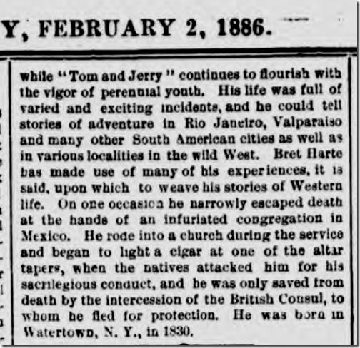 New York Daily Graphic, Feb. 2, 1886.
