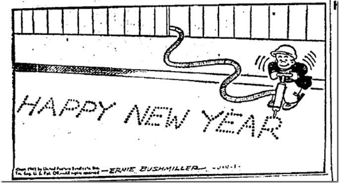 Jan. 1, 1945, Happy New Year