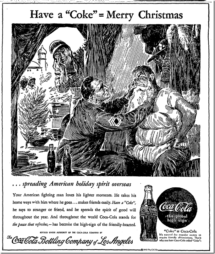 Dec. 24, 1943, Christmas