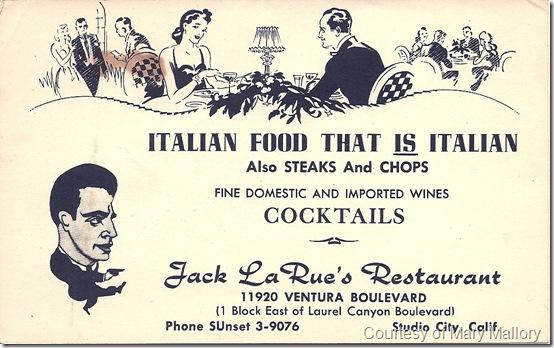 La Rue's Restaurant PC