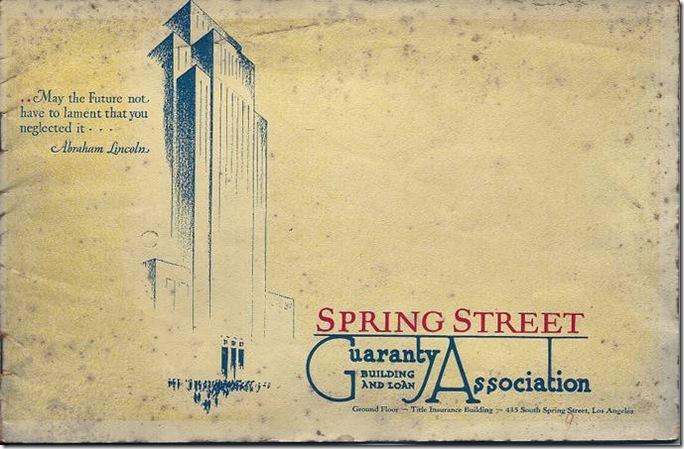 Spring Street Guaranty