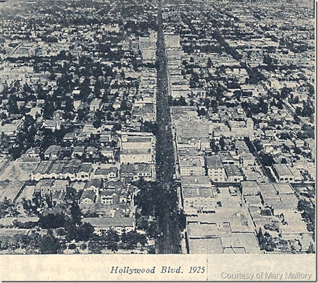 Hollywood Blvd. 1925
