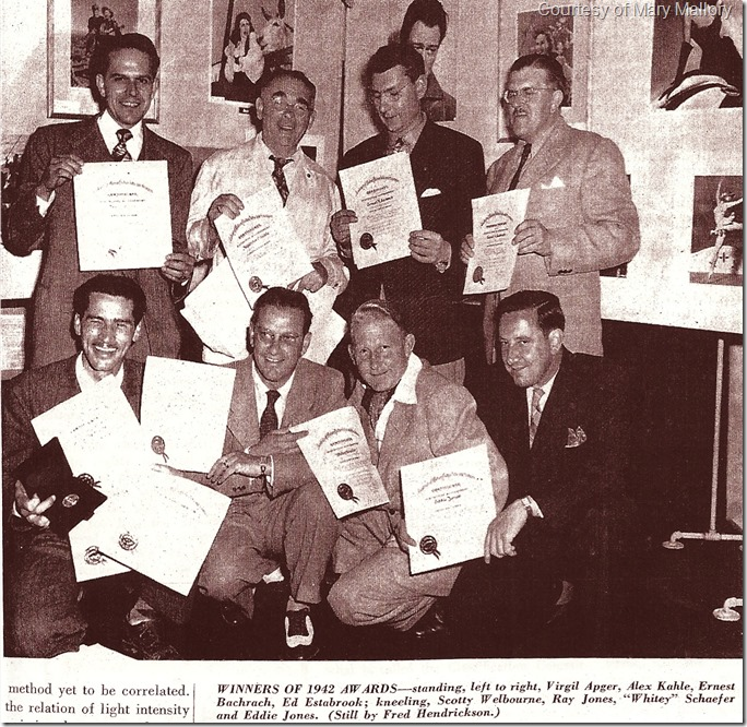 1943 Stills Winners