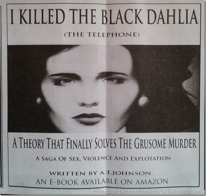 I Killed the Black Dahlia