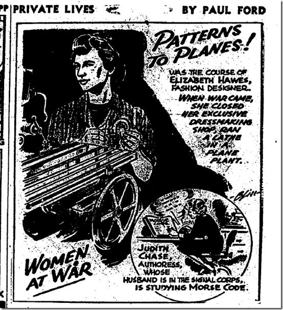 Feb. 11, 1944, Women at War