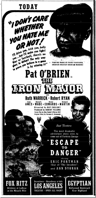 Feb. 11, 1944, Iron Major