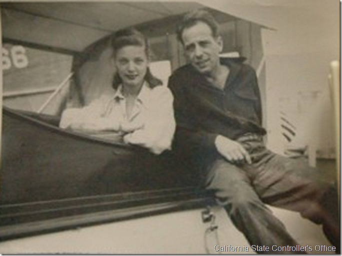 Bacall and Bogart, State Controller's Office