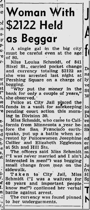 Nov. 4, 1949, Rich Beggar