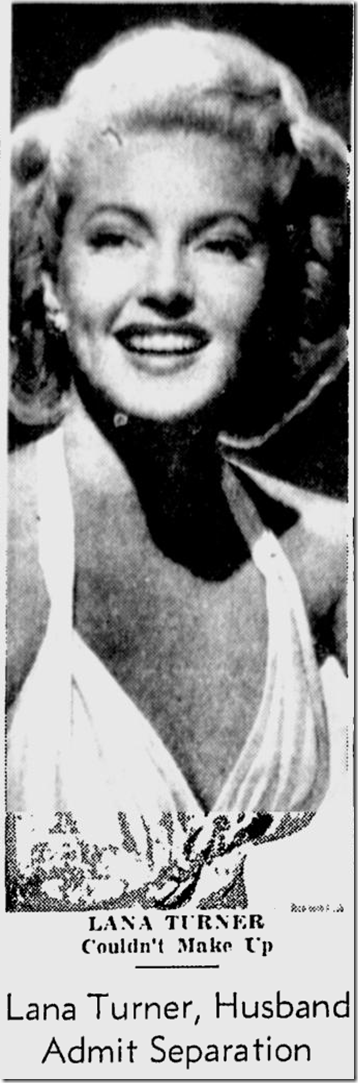April 4, 1944, Lana Turner
