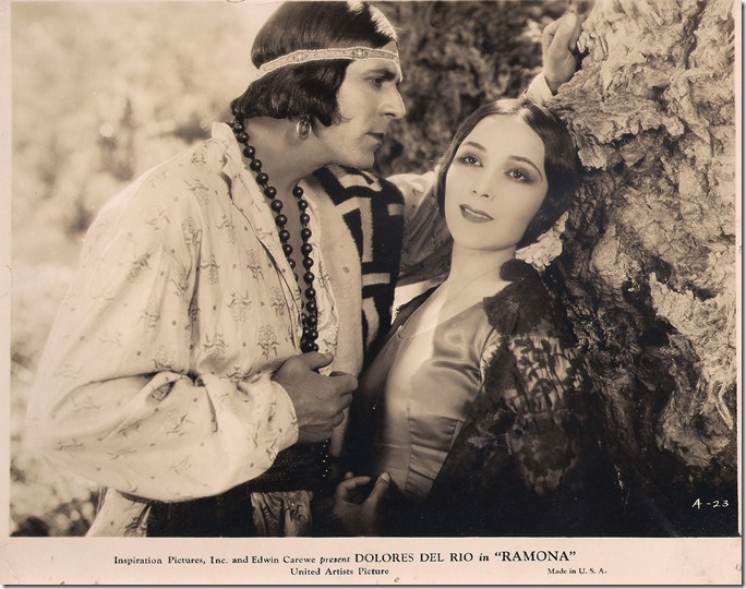 "Warner Baxter and Dolores Del Rio in ""Ramona"""