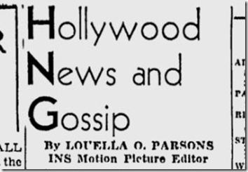 May 8, 1944, Louella Parsons