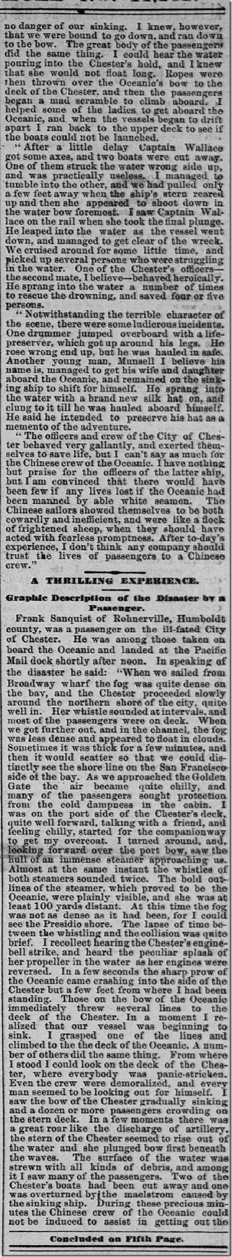 Aug. 23, 1888, City of Chester