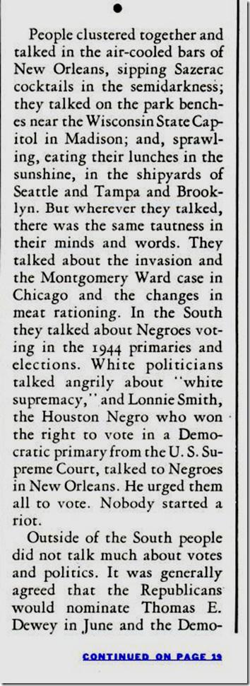 May 22, 1944, Life Magazine