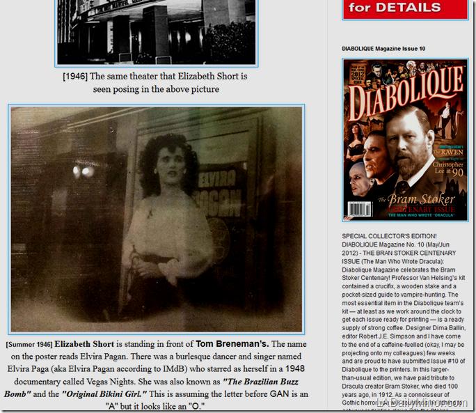 Black Dahlia Elvira
