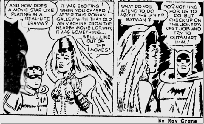 May 22, 1944, Comics