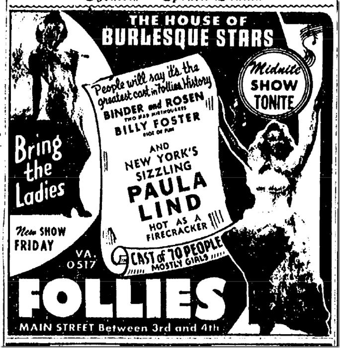 July 1, 1944, Follies